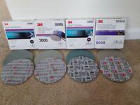 3M Trizact 1000☆3000☆5000☆8000 6in Foam Discs