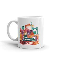 ROMA Skyline alta qualità 10oz caffè tè tazza # 7888