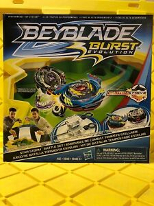 Beyblade Burst Evolution Star Storm Battle Set NEW
