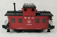 Aristo Craft ART 42209 Baltimore and Ohio B&O Bobber Caboose C2209 Red w Box