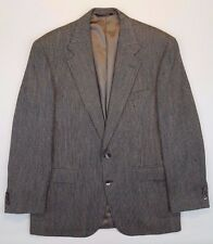 ORVIS Silk BLAZER Multicolor GREEN Mens 2 BUTTON Sz 42R Man SIZE Lined CHECKED**