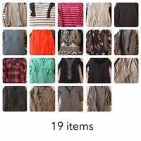 Womans Size Medium Clothing Lot 19 Items