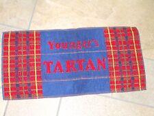 Wm. Youngers Tartan Bar towel New