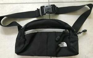 THE NORTH FACE FANNY PACK BLACK ROO WAIST FANNY HIKING BAG NICE!