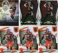 (12) 2019-2020 Baker Mayfield Panini LOT Prizm Elite Base Card Browns Football