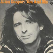 """ALICE COOPER 7""""PS Spain 1977 You and me"""
