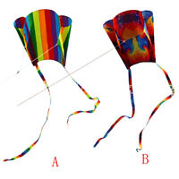 Hot Children's Colorful Mini Pocket Kite Outdoor Fun Sports Software Kite Flying