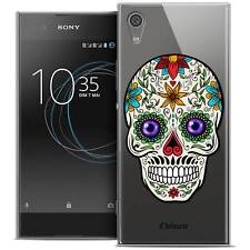 "Coque Crystal Gel Pour Sony Xperia XA1 Ultra (6"") Extra Fine Souple Skull Maria'"