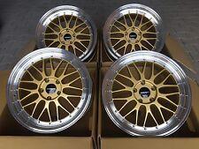 IB Le Mans 8,5 + 9,5 x19 für BMW 3er E46,E90,E92,E93 M3, Z4 4er Felgen Gold