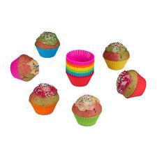 Muffinförmchen aus Silikon 24 Muffinformen Silikonformen für Cupcakes Backformen
