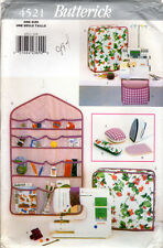 """1996 Butterick Sewing Pattern 4521 """"Designer Sewing Accessories"""" Machine Covers+"""