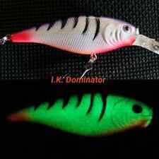 Custom Glow Flicker Shad - Size 7 - I.K. Dominator