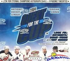 2003/04 Pacific Quest for the Cup Hockey Factory Sealed HOBBY Box-3 RC+1 JERSEY