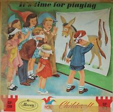 DISCO 33 GIRI - IT'S TIME FOR PLAYING - THE STORY OF CHILDCRAFT