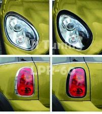 MINI Cooper R60/R60S Headight+Taillight Surround Rims-Gloss Black
