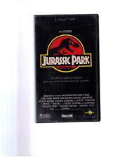 Jurassic Park , un film de Steven Spielberg, 3 Oscars 1993, Cassette video VHS