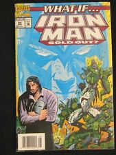 What If #64 - What If Iron Man Sold Out Marvel