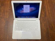 "Apple MacBook 13"" A1342 White Laptop - 2.4Ghz CPU✔2GB RAM✔250GB HD✔DVD+/-RW"