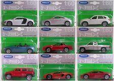 Welly Porsche DieCast Material Vehicles