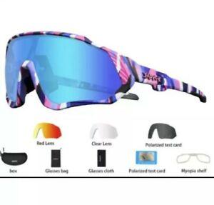 NEW Kapvoe-gafas de sol polarizadas de Ciclismo con 5 Lentes Fotocrománticas