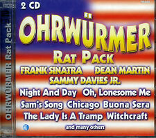 Ohrwürmer - Rat Pack, Frank Sinatra, Dean Martin, Sammy Davies Jr.  2 CD  OVP