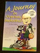 ADKINS, DAVE A Journey in Overseas Basketball  1st Edition SIGNED