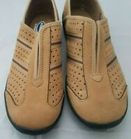 Dr. Scholl's Comfort Women Oxford Shoes Tan Double Air-Pillo Gel Insoles Size 8M