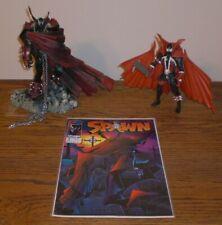 Spawn Mcfarlane Toys I & V Figures Loose W/ Spawn 06/02/1992 Violator Issue 8.5