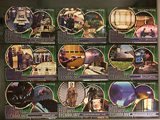 Star Trek Enterprise Season 1 - 9 Card Insert Set 22nd Century Technology