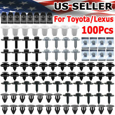 100pcs For Toyota Under Engine Cover Clips Screws Mud Flaps Wheel Arch Retainer Fits 1985 Supra