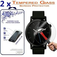 2x For Motorola MOTO 360 2nd Gen 42mm HD Tempered Glass Screen Protector