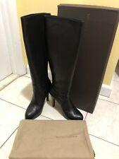 Bottega Veneta Black Tall Boots Size 41