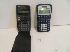 Lot 2 Texas Instruments Ti-30X Iis & Ti-366X Solar Calculators working?