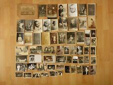 Konvolut alte Fotos: 62 x altes Foto Kinder Mädchen Jungen