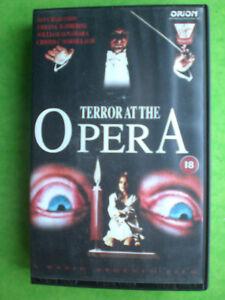 TERROR AT THE OPERA  (DARIO ARGENTO)-    ORIGINAL BIG BOX  VERY RARE AND DELETED