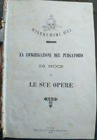 1893 OPERE DELLA CONGREGAZIONE DEL PURGATORIO DI NOCI (BARI)