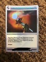 Chaotic Battlegear card Super Rare Maxxor's Torch Unused Code