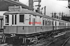 PHOTO  1938 SOUTH TYNESIDE ELECTRIC TRAIN AT NEWCASTLE CENTRAL 1938 VIEW NE AT T