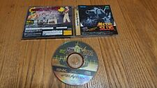 Metal Slug for Sega Saturn AMAZING CONDITION WORKING ORIGINAL RARE