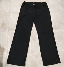 PRANA BREATH WOMEN'S BLACK ATHLETIC YOGA WORKOUT PANTS SIZE S