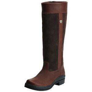 Ariat Windermere Waterproof Country Boot - Regular Calf Dark Brown WAS £170.00