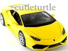 Maisto Lamborghini Huracan LP 610-4 1:24 Diecast Model Car 34509 Yellow