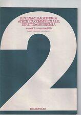 RIVISTA DI RAGIONERIA E TECNICA COMMERCIALE, DIRITTO ED ECONOMIA - N.2 - 11 1979