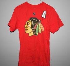 """NHL Reebok Chicago Blackhawks #7 """"A"""" Hockey Shirt New Mens SMALL"""