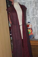 SARAH PACINI Superbe long gilet bicolores en laine et mohair   ! Taille  Unique
