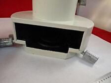 MICROSCOPE PART NIKON DIAPHRAGM PHOTO TUBE OPTICS AS IS B#T3-G-04