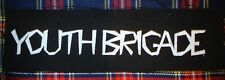 Youth Brigade DIY Patch- Punk Crust Black Flag Off Leftover Crack Oi