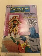 DC DETECTIVE COMICS #259 1st App CALENDAR MAN '58 MID Grade BATMAN ROBIN CGC It