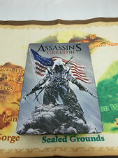 Assassin's Creed III Steelbook Only No Game (Xbox 360/PS3 version)