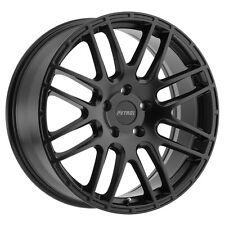 17 inch 17x7.5 PETROL P6A Matte Black wheel rim 5x4.49 5x114 +40